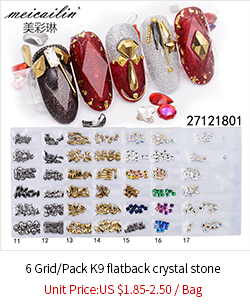 1 Box Shiny Zircon Chain Luxury Diamond Chain For Nail Decoration
