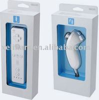 Nunchuck and remote for Wii remote and Nuchuck controller(White)