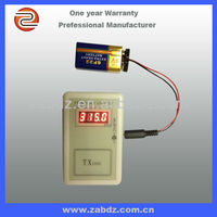 Wirless remote transmitter frequency meter