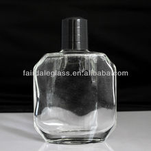 100ML clear after shave bottle with a plastic cap