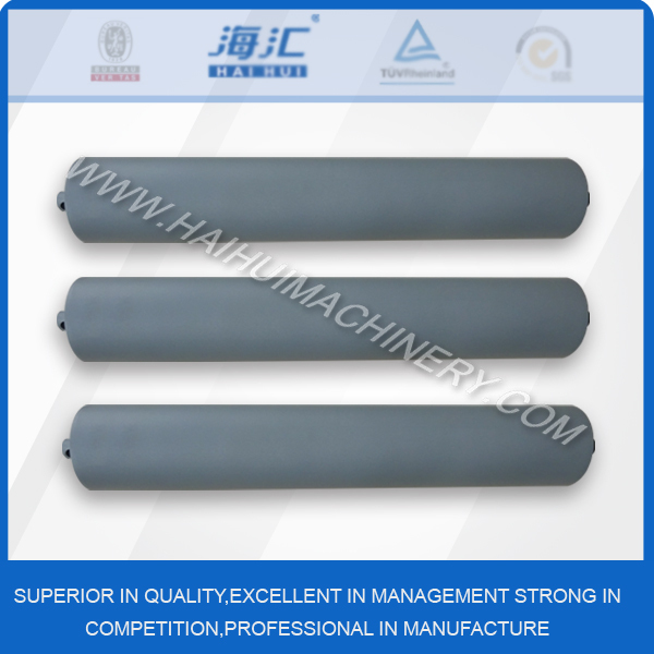 China good price industrial belt conveyor steel idler painting <strong>roller</strong>