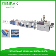 16-350mm pvc square tube production line upvc pipe machine for sale
