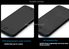 With standard type glass cleaner tempered glass screen protector for iphone5