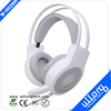 USB jack cheap gaming headphone with led light