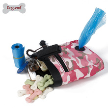 Pet bag wholesale Camuflage Design Pet Treat Tote Outdoor Dog Treat Pouch for training