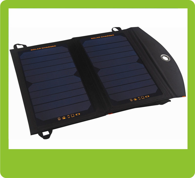 China best universal charger mobile phone accessory 12W solar power pack solar mobile charger solar chargeable bag