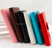 Premium flip leather mobile phone case cover for Lenovo S820