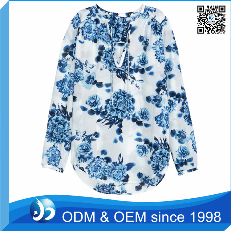 OEM New Fashion Girls Tops with Custom Logo