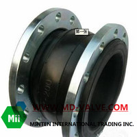 Flexible rubber joint valve parts