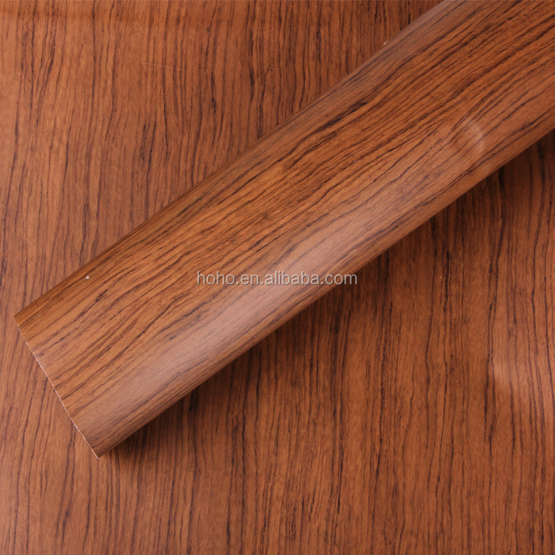 wood grain pvc lamination film ,pvc membrane foil for door, furniture , cabinet , decoration foil