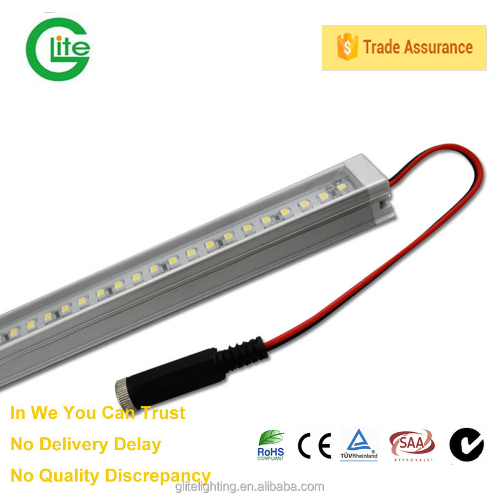 Led Bar light with 6063 T5 Aluminum Profile and 3528 60leds/m led strip