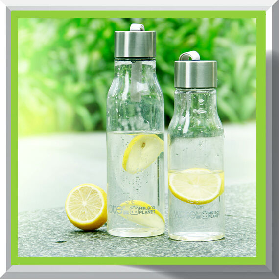 High quality plastic 600ml camping water bottle