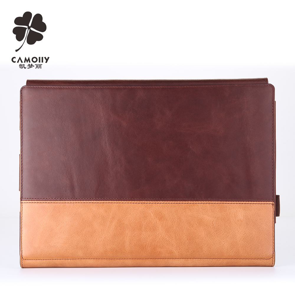 Top Quality Cowhide Tablet Protector Leather Case For Ipad