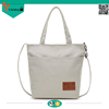 new design fashion women canvas folding shopping bag large capacity tote bag