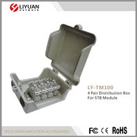 LY-TM100 4 Pair Distribution Box For STB Module