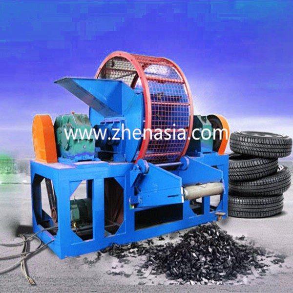 Waste tire production line / scrap tire processing equipment / used tire recycling plant
