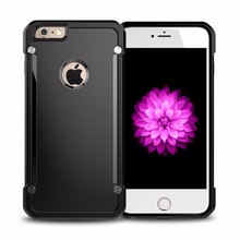 Factory Hot Selling Clear Back Hybrid TPU+PC Case For iPhone 6 6S Case
