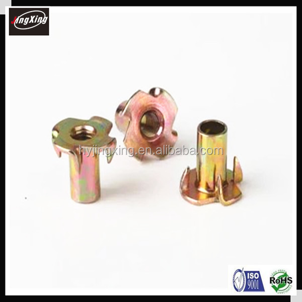 Good price M4/M5/M6/M8/M10 furniture wood insert nut for wood