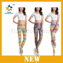 100pcs MOQ hot seller factory selling multi color printed legging