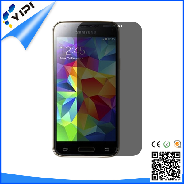 New trending!!! 0.4mm Anti Fingerprint Privacy Screen Protector For Samsung Edge Mobile Phone, Remove Air Bubbles Screen/