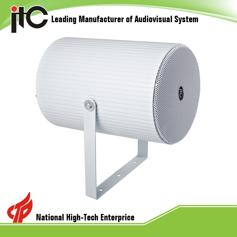 "ITC T-770 15W 6"" Public Address System IP66 Outdoor highly Directional Speakers"