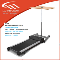 office treadmill made with low noise level under 64 with 3.0 Hp peak value power max loading 150kgs