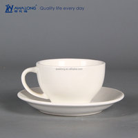 wholesale coffee cup and saucers high quality Custom Printed tea Cups And Saucers