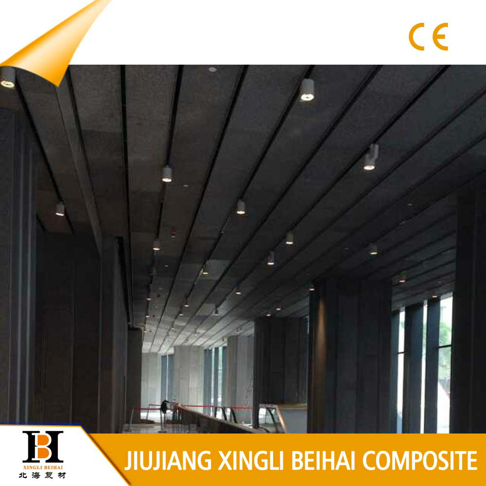 Acoustic diffuser aluminum foam railway noise barrier for Best sound barrier insulation