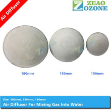 "4"" and 6"" fine air bubble disc aerator diffuser for water treatment"