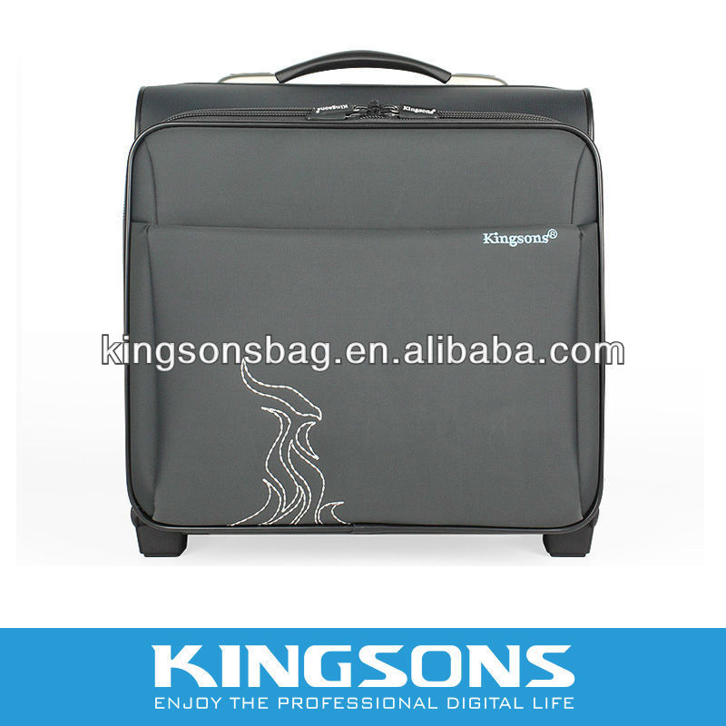 fashion laptop trolley case for ladies