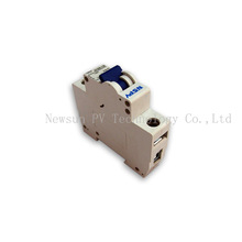High efficiency DC/AC solar Miniature Circuit Breaker 1P for solar system