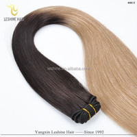 Top Quality Good Feedback Brand Name New Arrival Wholesale Alibaba Tending Hot Products indian hair weft ombre color