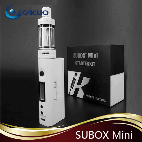 2015 Authentic Original Best-Selling Black & White 50w Kanger Subox Mini Full Kit VS Istick TC40w Wholesale