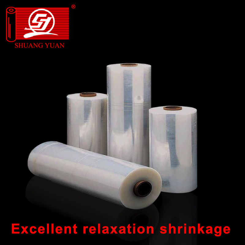 Lower price Machine Packing High Retraction Raw Material Stretch Film