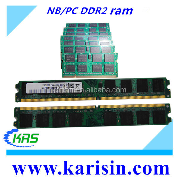 Factory price wholesale SODIMM 2gb bulk ddr2 ram memory with ETT chips