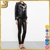 SHANGYI leather jackets boys size, leather jacket low prices