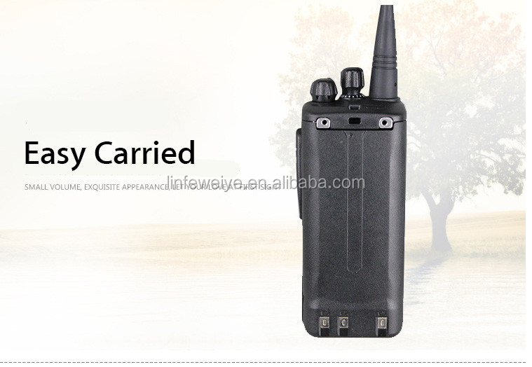 High Quality Black 16 Channel Radio 400-470 MHz UHF Walkie Talkie Specifications