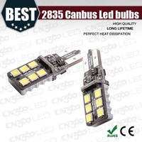 2015 hot sale 9v 24v canbus 2835 smd led licence lamp
