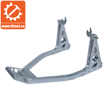 Aluminum motorcycle rear paddock stand
