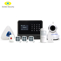 Support 433/868MHz alarm system home automation security WIFI burglar alarm system IP camera GSM alarm system with ifttt setting