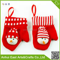WHOLESALE PLUSH STUFFED ANIMAL SHAPE CHRISTMAS GLOVES TOY FOR KIDS