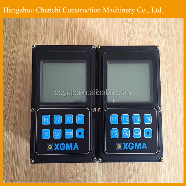 Excavator electric spare parts monitor display panel for XGMA