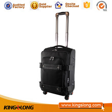 Kingslong strong durable suitcase easy trip laptop trolley case