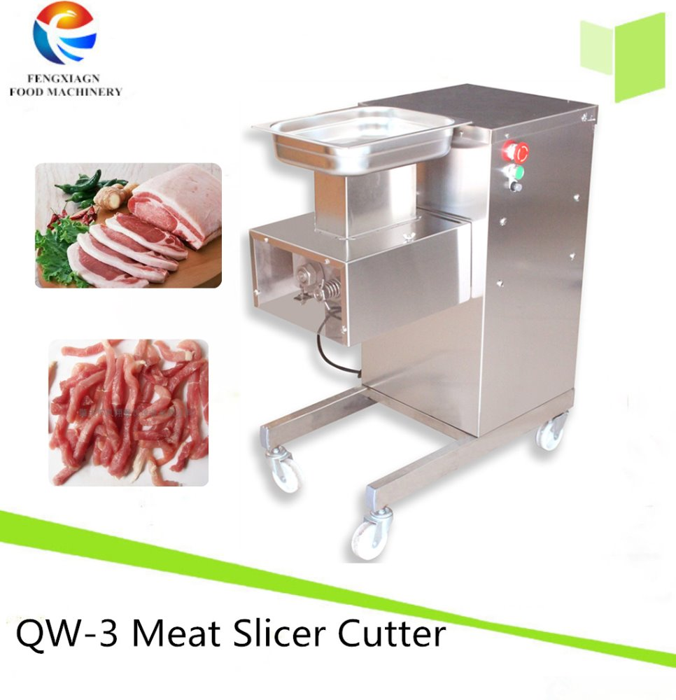Commercial Meat Chicken Squid Slicer / Beef Cutter Cutting Machine (QW-3)