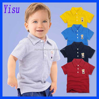 Wholesale High Quality Children's Short Sleeve Polo T-shirts