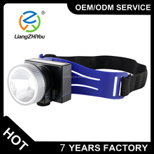 Wholesales battery operation 3w outdoor sport hiking headlight lamp mining camping head lamp for safety helmet