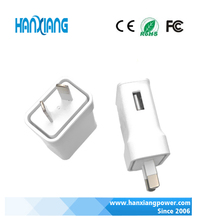 Reliable AU Type Micro USB Wall Charger Australia Travel Charger with 5V 1A / 2A Output