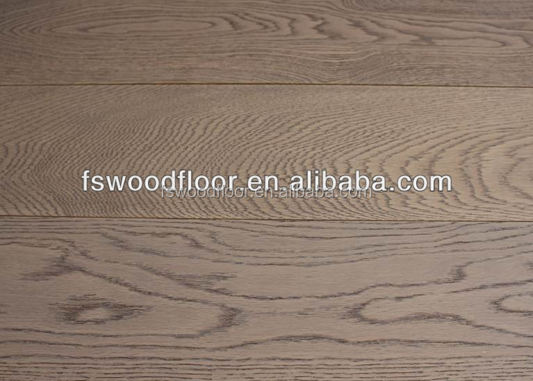 wide plank grey oak solid timber flooring