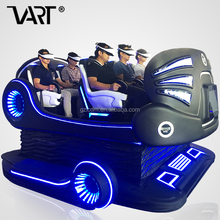 VART Newest Family Dynamic Seat 9D VR 6Seat Cinema 360 Degree View Cinema Simulator