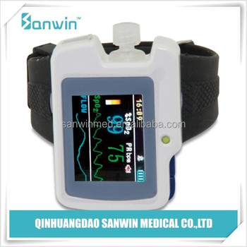 portable handheld wirst electronic CMS50I mini watch Pulse Oximeter